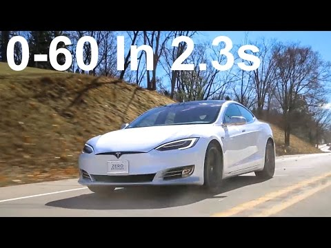 Tesla Model S P100D Review | 0-60mph in 2.28 seconds