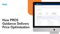 How PROS Guidance Delivers Price Optimization