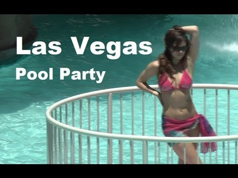 Las Vegas Hotel (HD) Pool Party with Bikini Dancing 拉斯維加斯