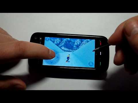 Nokia 5800: Запуск игр [Avalanche Snowboarding]