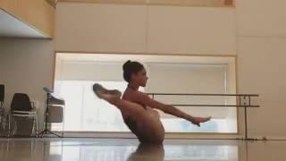 Разминка балерины. Ничоси...