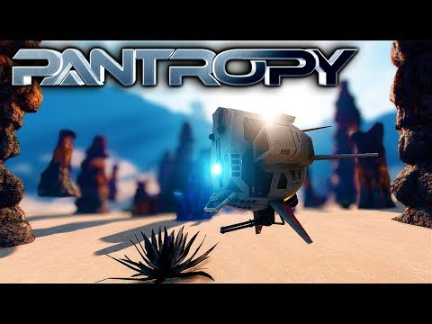 Pantropy - FINDING OIL & CRAFTING LIGHTS! - Let's Play Pantropy Gameplay Part 1 (Sci-fi MMOFPS RPG)