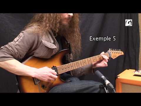 Guthrie Govan-slap guitar,slide and tapping lesson