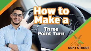 how to make a 3 point turn