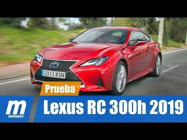 Lexus RC 2019 | 300h | Testdrive & Review en Español