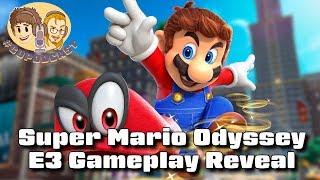 Super Mario Odyssey E3 Gameplay - #CUPodcast