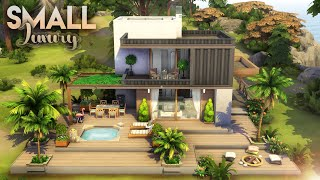 SMALL LUXURY HOUSE #4 | NO CC | The Sims 4: Speed Build