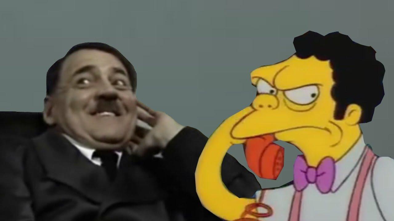 Hitler Prank Calls Moe