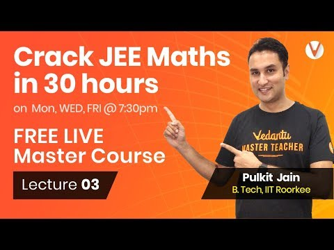 Quadratic Equation - Location of Roots using Graphs, Crack JEE Mains Maths 2019 | Lecture 3