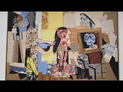 Пикассо обожал бумагу: выставка в Лондоне