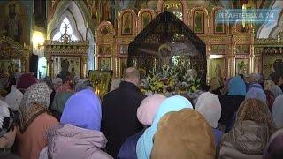 Благовещение в Смоленском храме Ивантеевки(7 апреля православные ежегодно отмечают Благовещение Пресвятой Богородицы. Праздник Благовещение один..., 2016-04-09T09:57:00.000Z)