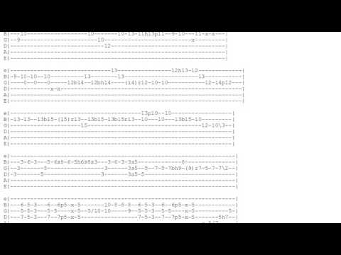 Sultans of swing - Dire Straits - Tabs and Chords HD