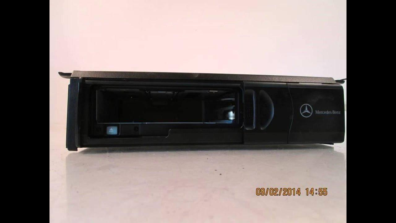 2003 mercedes c240 cd changer w o magazine 2038209089 for Mercedes benz c240 parts