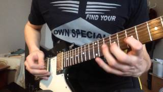 Spongebob Squarepants - Green Skirt Chase - Guitar Cover