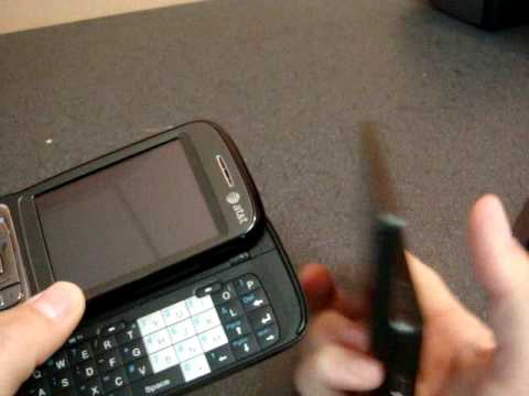 HTC Touch Pro Unboxing