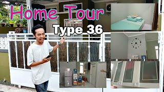 Home Tour Rumah Type 36 Minimalis | Tips And Tricks