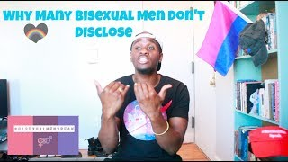 Why Many Bisexual Men Don't Disclose
