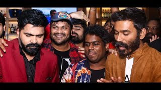 Happy Birthday STR: Simbu celebrates his birthday with Dhanush | Megha Akash, Yuvan Shankar Raja
