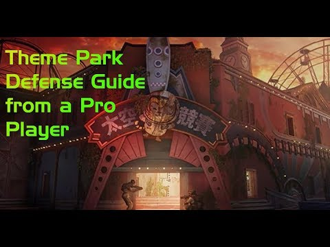 Theme Park Defense Guide from a Pro Player! All 4 Sites Covered!