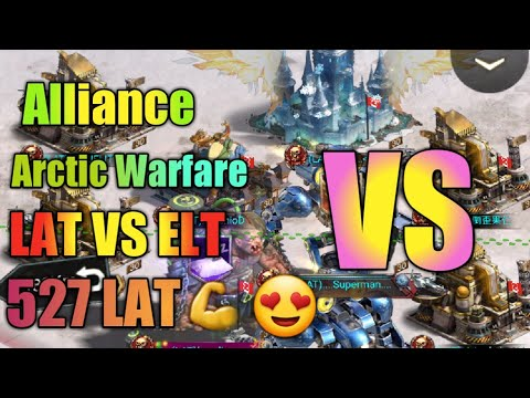 Last Empire War Z Alliance Arctic Warfare Fight LAT527 VS ELT 40