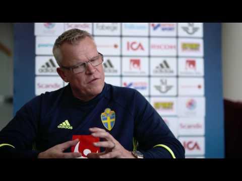 """Lång intervju med Janne Andersson: """"Vrålsugen på Frankrike"""" - TV4 Sport"""