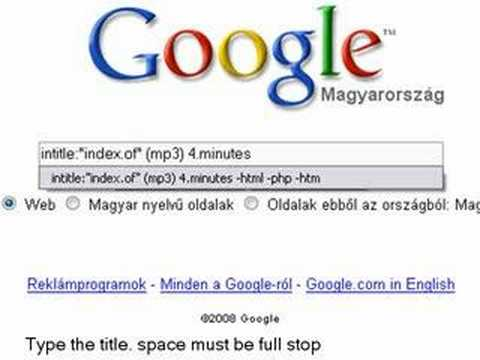 How to download music via Google