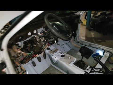 №3 Peugeot 406 Разбираем солон.