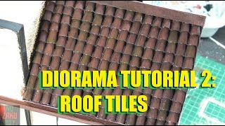 diorama tutorial 2 : Roof Tiles
