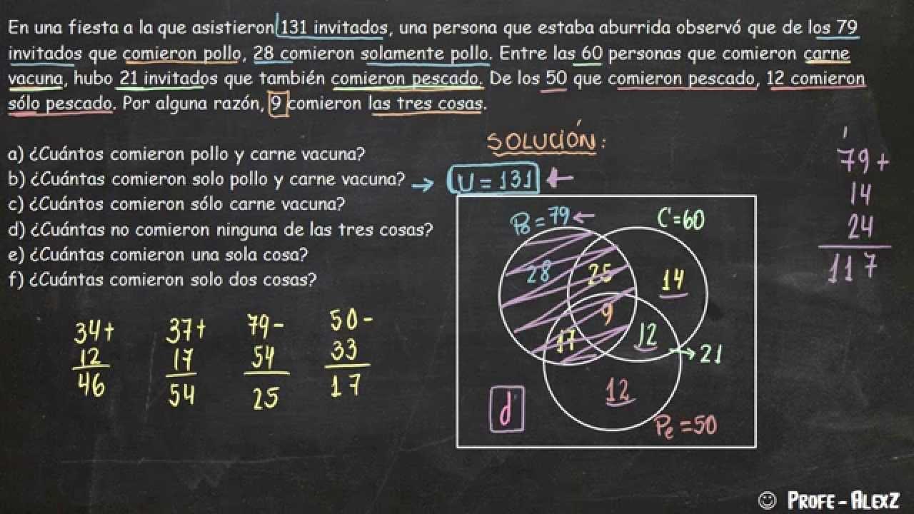 Diagramas de venn ejercicios resueltos nivel 2 youtube diagramas de venn ejercicios resueltos nivel 2 ccuart Choice Image