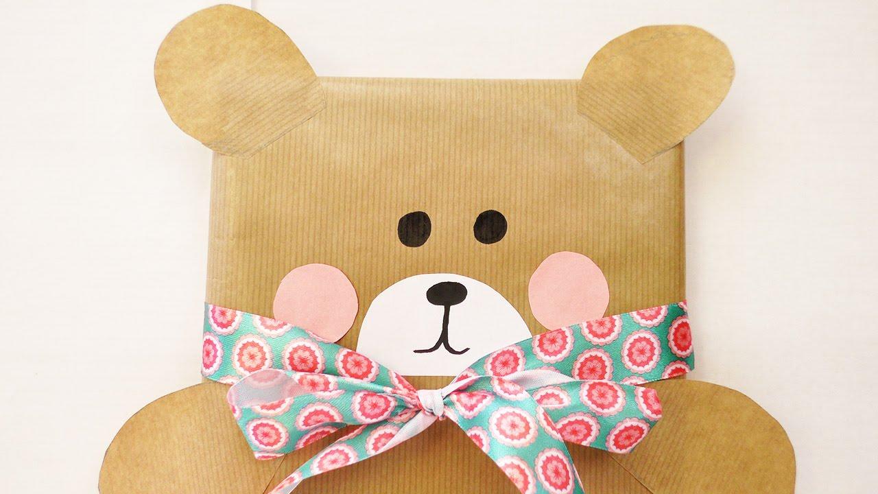 Susse Barchen Geschenkverpackung Geschenk Verpacken Fur Kinder
