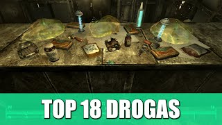 FALLOUT 3 | TOP 18 DROGAS