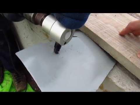 Насадка-ножницы для металла Sheet metal nibbler cutter
