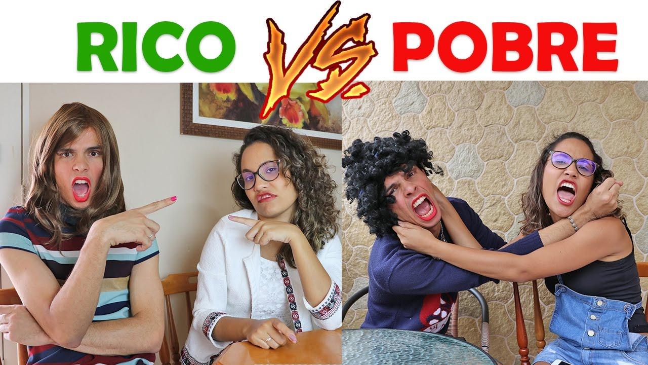 RICO VS POBRE FAZENDO AMOEBA / SLIME #13 - …