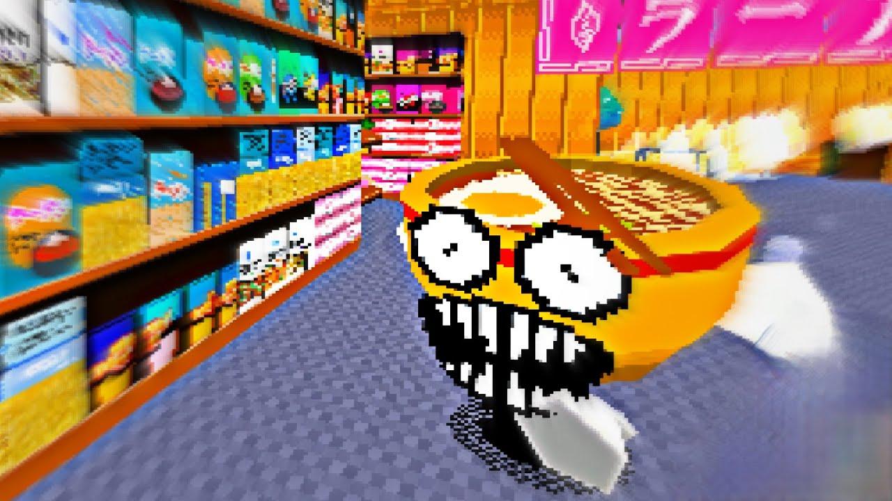 Me PERSIGUE un RAMEN ASESINO - Tasty Ramen (Horror Game)