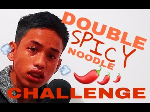 DOUBLE SPICY NOODLE CHALLENGE!!!