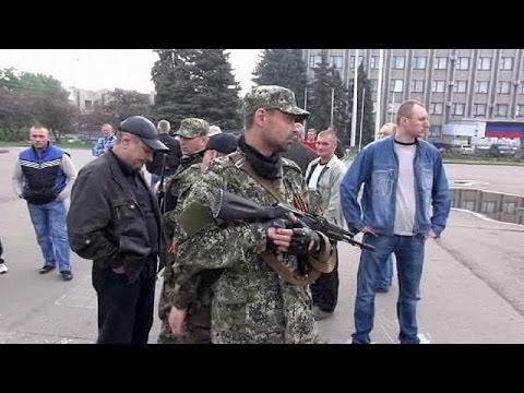 Slovyansk residents angry at Ukraine military operation