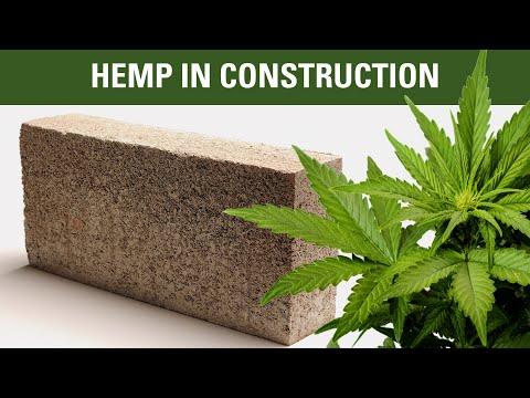 Introduction to hempcrete, hemp oil, hemp wood and more..