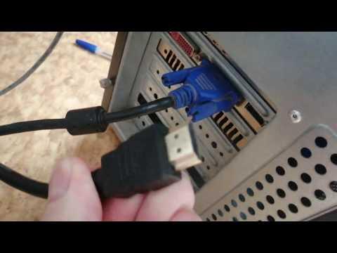 Как подключить ПК по кабелю HDMI к Smart TV (телевизору)
