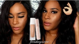 NEW Fenty Beauty Foundation 385, Concealers & Setting Powders! | First Impressions & Flash Test