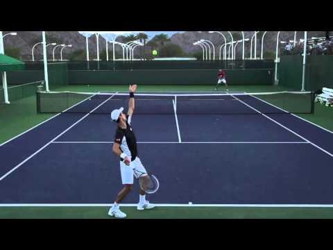 """Giao bóng 'serve"""" của Djokovic quay chậm qua video  – DancoSort.com"""