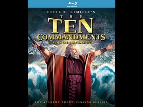 cecil b demille's the ten commandments The ten commandments is a 1956 american epic film produced and directed by cecil b demille  it dramatizes the biblical story of the lif.