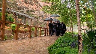 """Рахмон провел экскурсию для Лукашенко по своим загородным резиденциям """"Варзоб"""" и """"Такоб"""""""