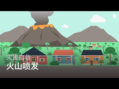 灾害自救:火山喷发 | 灾难自救