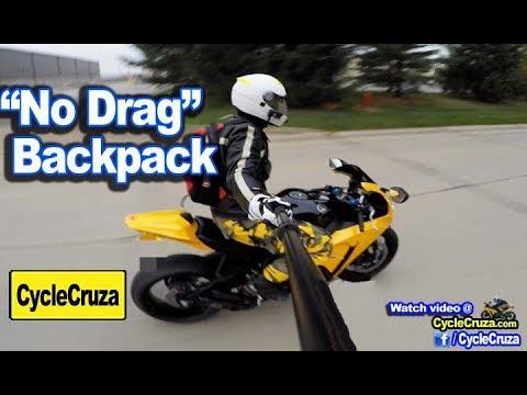 No Drag Bullshit! Why Waste Money on Expensive Motorcycle Backpack? | MotoVlog