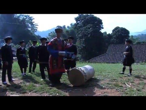 Lễ hội múa trống của người Giay    Phần 1