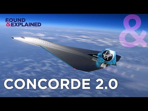 Meet The New Concorde - Virgin Galactic Mach 3.0 Supersonic Jet