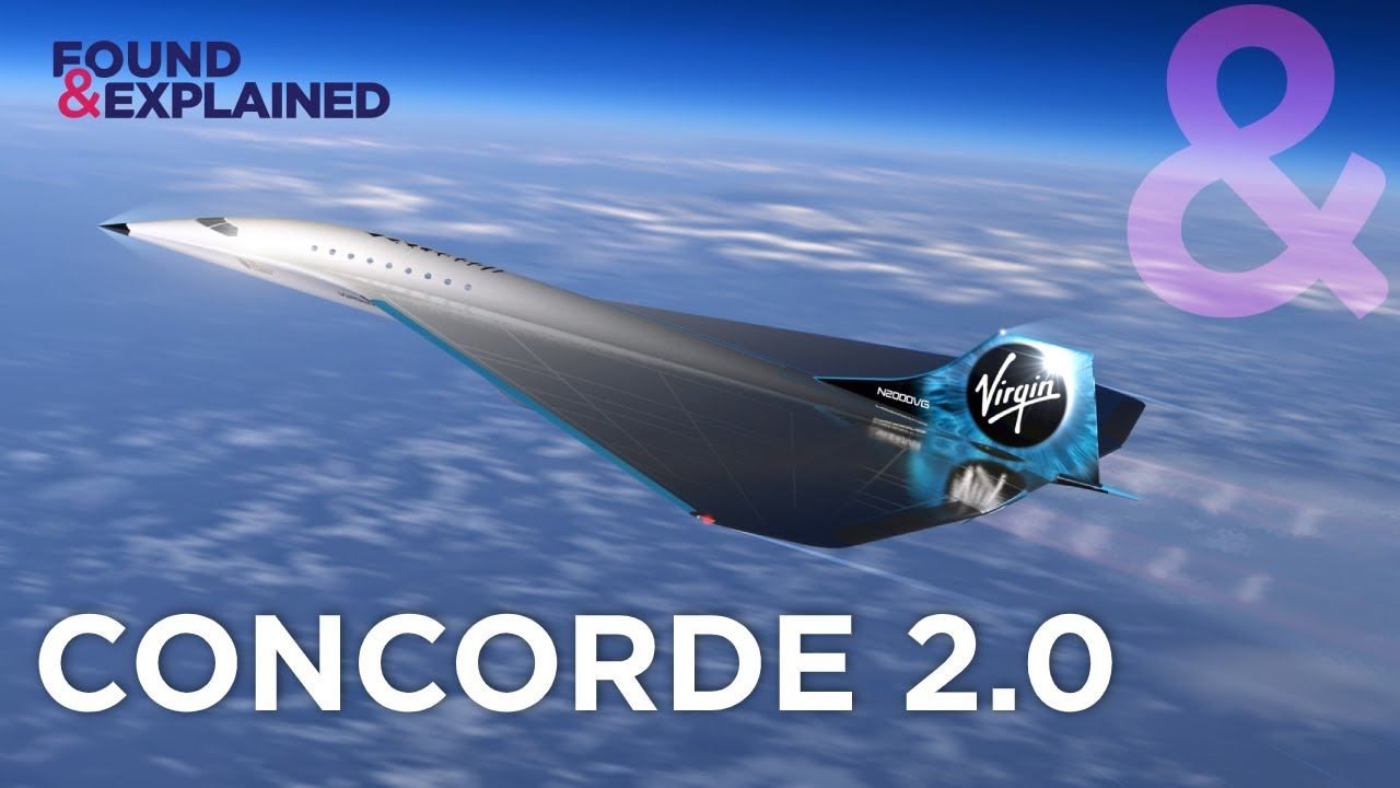 Meet The New Concorde - Virgin Galactic Mach 3.0 Supersonic Jet