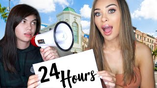 Daughter says YES to Mom for 24 HOURS!! *public humiliation*