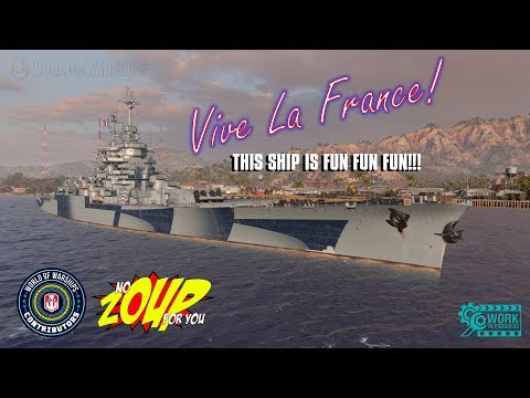 France T10 French Battleship Preview - World of Warships