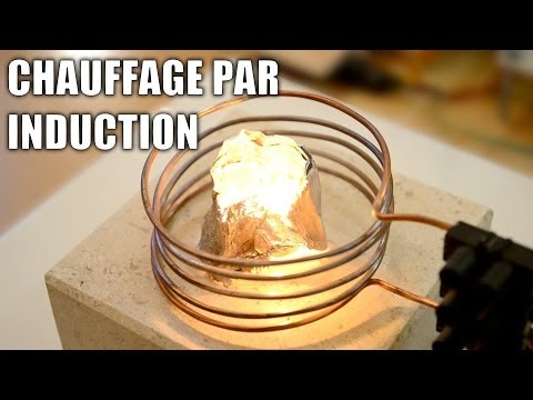 Forge à induction faite maison